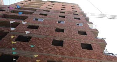 إزالة برج من 10 طوابق بمركز مطاى المنيا