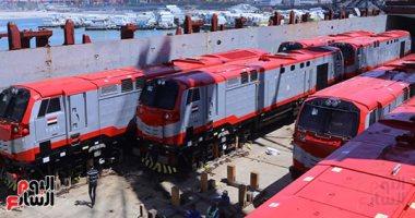 وزارة النقل توضح حقيقة شراء صفقة جرارات قطارات أمريكية غير مطابقة للمعايير