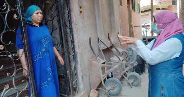 صور .. القومى للمرأة بالشرقية يواصل حملاته بالقرى والعزب لمواجهة كورونا