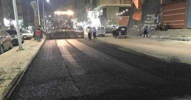 غلق جزئى بطريق المريوطية وتقاطعه مع شارعى الإخلاص والعروبة 10 أيام بدءا من الغد