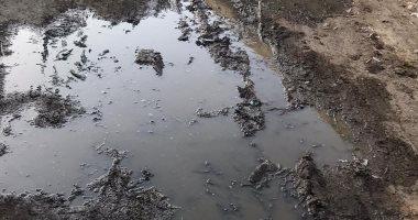شكوى من غرق قرية دسونس أم دينار بمحافظة البحيرة بالصرف الصحى