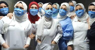 الجيش الأبيض.. طاقم تمريض بلقاس على خط مواجهة كورونا بمستشفى تمى الأمديد