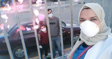 صور.. 100 يوم عمل لمديرة مستشفى العجمى بالإسكندرية بدون إجازة لعلاج المصابين