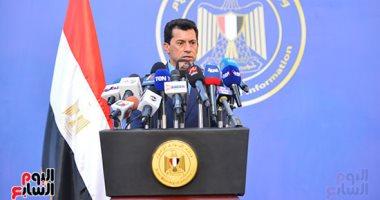 أشرف صبحي: عودة الحياة الرياضية هو هدف القيادة السياسية