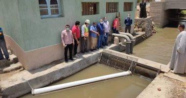 القومى لبحوث المياه يجرى قياسات للتأكد من كفاءة محطات رفع المياه بالفيوم