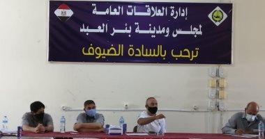 تفويض رؤساء قرى بئر العبد بشمال سيناء بإصدار قرارت إزالة التعديات.. صور