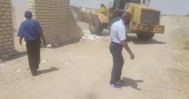 تنفيذ 70 إزالة تعديات على أملاك الدولة بنطاق بئر العبد بشمال سيناء