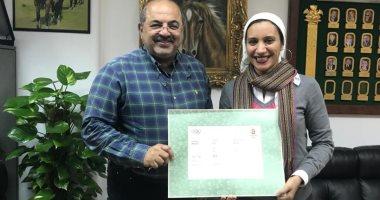 آية مدنى: دعم الأولمبية المصرية سر تواجدى الإدارى على المستوى الدولى