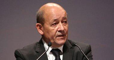 وزير خارجية فرنسا يتوجه لبرلين لبحث سبل التعاون والوضع فى منطقة الشرق الأوسط