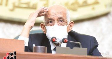 """على عبد العال فى برقية مواساة لرئيس مجلس نواب لبنان: """"نشاطركم الأحزان"""""""