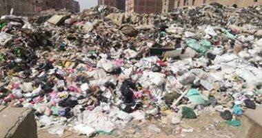 تراكم القمامة والمخلفات.. شكوى منطقة صفط اللبن بشارع الفردوس