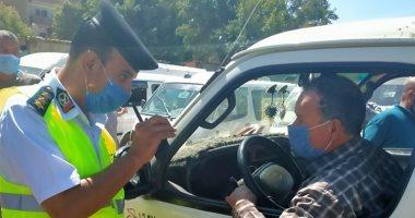 تحرير 3786 مخالفة مرورية متنوعة أعلى الطرق السريعة بالمحافظات