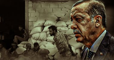 """أردوغان يلجأ لأمير الإرهاب ويتصل بـ""""تميم"""" بعد محاصرته فى ليبيا"""