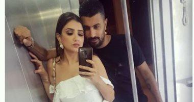 مى عمر لزوجها المخرج محمد سامى: لا يهم ما ينتظرني طالما أنك ورائي دائما