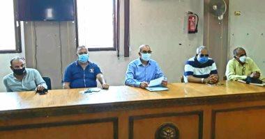 تعليم بورسعيد تبحث مع رؤساء لجان الثانوية العامة استعدادات الامتحانات صور اليوم السابع