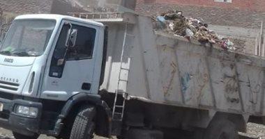 حملات نظافة بمدينة الحسينية للحفاظ على الشكل الجمالى