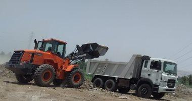 صور.. رفع 24 طن مخلفات وقمامة بالقرى ووسط مدينة الزينية بحملات نظافة