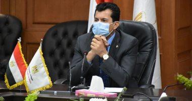 وزير الرياضة عن مصير الدورى بعد إصابات كورونا: المشكلة فى نادٍ أو اثنين