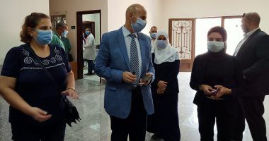 بدء التشغيل التجريبى للمركز الطبى لعزل حالات الكورونا بالعاشر من رمضان