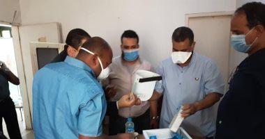 لجنة من محافظة أسوان تتفقد مستشفيات العزل وتتابع توافر المستلزمات