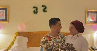 رسالة غرامية لمصطفى محمد من زوجته قبل مواجهة الزمالك ونادى مصر