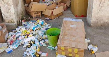 مصادرة 285 ألف قرص أدوية و3 آلاف كمامة مجهولة المصدر داخل صيدلية بالمعادى