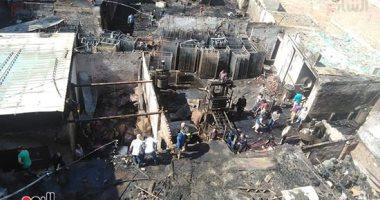 النيابة تطلب التحريات والتقرير الجنائى حول حريق محل أدوات منزلية فى فيصل