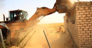 """""""الريف المصرى"""" تشن حملة لإزالة التعديات على 1.5 مليون فدان بالمغرة"""
