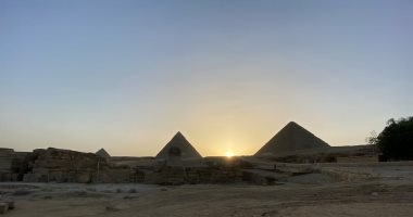 الآثار تنفى وجود أعمال إنشاء طرق داخل المنطقة الأثرية بهضبة الأهرامات
