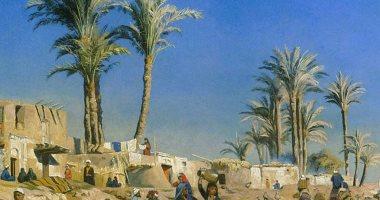 """100 لوحة عالمية.. """"على أطراف القاهرة"""" حياة بسيطة جميلة"""