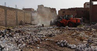 محافظ أسوان: إزالة 35 حالة تعد على الأراضى الزراعية وأملاك الدولة