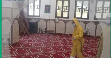 مساجد دهب بجنوب سيناء تستعد لاستقبال المصلين..صور