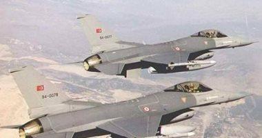 طائرات حربية تركية تقصف قضاء العمادية فى كردستان العراق