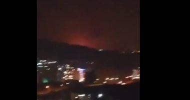 انفجار فى العاصمة الإيرانية طهران يهز المبانى