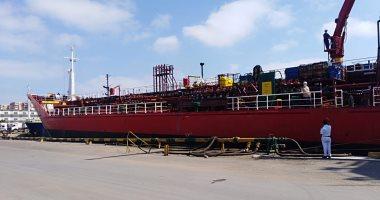 شحن 5500 طن صودا كاوية.. وتداول 23 سفينة بموانئ بورسعيد