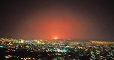 انفجارات ضخمة فى محيط قاعدة سبايكر العراقية
