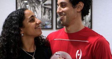 رنيم الوليلى لزوجها بعد اعتزالها: بناء أسرة معك أولوية..فيديو وصور