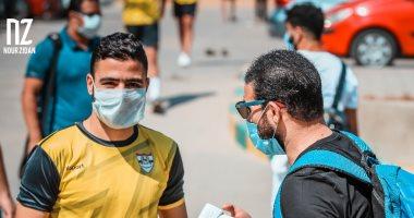 اتحاد الكرة يخطر الإنتاج الحربى بإجراء مسحة كورونا الرابعة اليوم