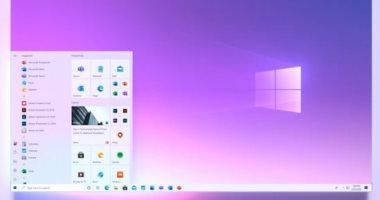 ويندوز 10 يحصل على تصميم جديد لقائمة Start.. اعرف التفاصيل