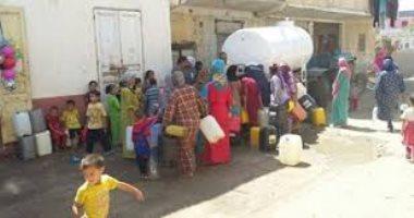 قطع المياه عن فيصل والهرم و6 مناطق أخرى 8 ساعات مساء اليوم