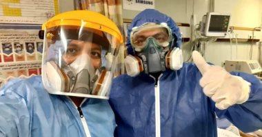 فريق طبى بمستشفى ناصر ينجح فى فصل بلازما من مريضة كورونا عمرها 65 عاما