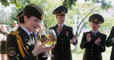 حفل تخرج دفعة جديدة من الأكاديمية العسكرية فى روسيا البيضاء