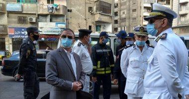 محافظ الإسكندرية يتفقد حريق المستشفى الخاص بعد مصرع وإصابة 16 مريضا.. صور