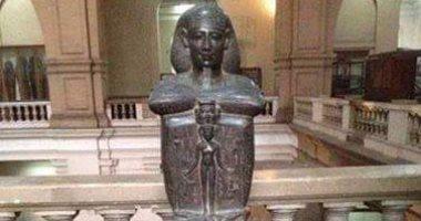 """التمثال المسحور """"جد – حور"""" أشهر القطع الفنية بالمتحف المصرى .. اعرف الحكاية"""