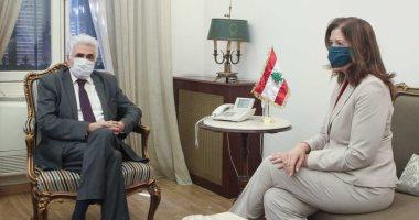 السفيرة الأمريكية فى بيروت :  قرار القاضى طوى ومستعدون لمساعدة لبنان