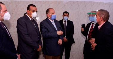 محافظ أسيوط يفتتح مستشفى عزل منفلوط بطاقة 45 سريرا  -