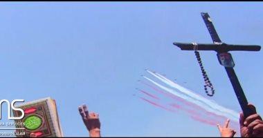 """شاهد.. أغنية """"شعب واحد"""" إهداء الشركة المتحدة للخدمات الإعلامية بمناسبة ذكرى ثورة 30 يونيو"""