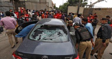 قتلى وجرحى بهجوم مسلح على مبنى بورصة كراتشى فى باكستان