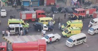ماس كهربائى وراء حريق مستشفى خاص ومصرع 7 مرضى كورونا بالإسكندرية