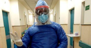 """الجيش الأبيض.. """"هانى"""" أخصائى القلب بمستشفي الباجور في مواجهة فيروس كورونا"""
